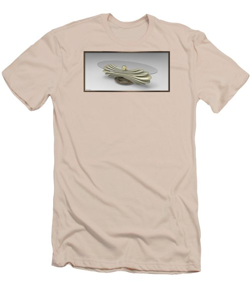 ' A Distorted Spring Table ' Men's T-Shirt (Slim Fit)