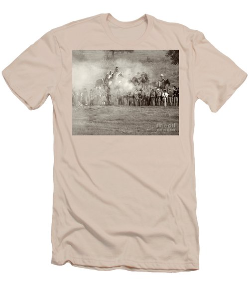 Gettysburg Confederate Infantry 7503s Men's T-Shirt (Athletic Fit)
