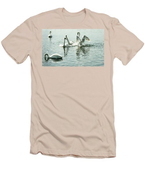 I Think He Means It..... This Time........ Men's T-Shirt (Slim Fit) by Martina Fagan