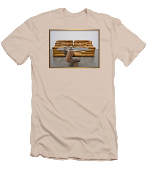 ' Lonely No More ' Men's T-Shirt (Slim Fit)