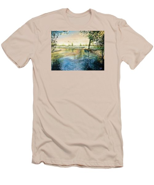 River Bend Men's T-Shirt (Slim Fit)