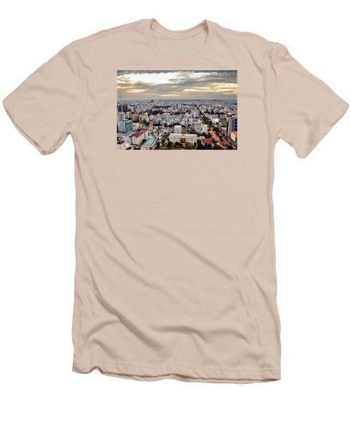 Afternoon On The City Men's T-Shirt (Athletic Fit)