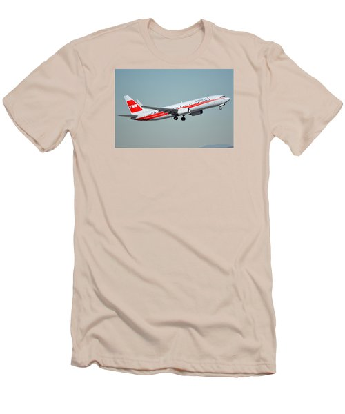 American Boeing 737-823 N915nn Phoenix Sky Harbor January 11 2015 Men's T-Shirt (Slim Fit) by Brian Lockett