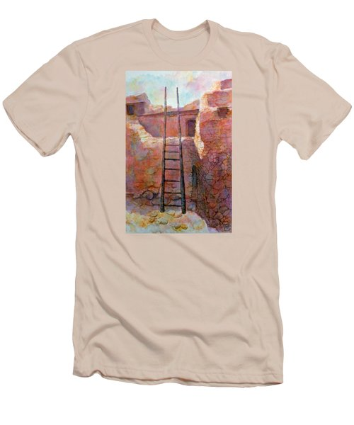 Ancient Walls Men's T-Shirt (Slim Fit) by Ann Peck