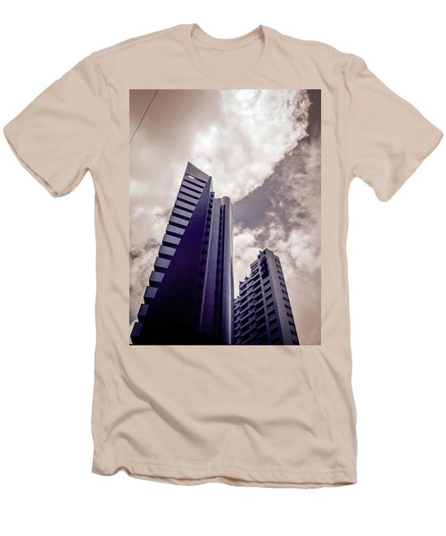 Architecture And Building Men's T-Shirt (Slim Fit) by Cesar Vieira