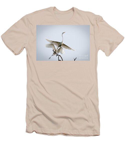 Ballet In The Sky Men's T-Shirt (Slim Fit)