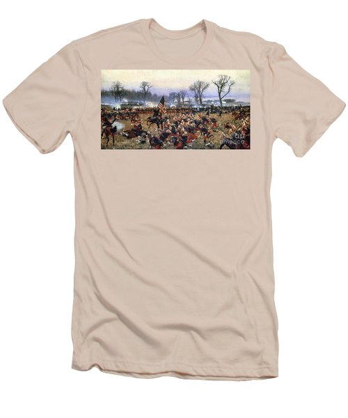 Battle Of Fredericksburg Men's T-Shirt (Athletic Fit)