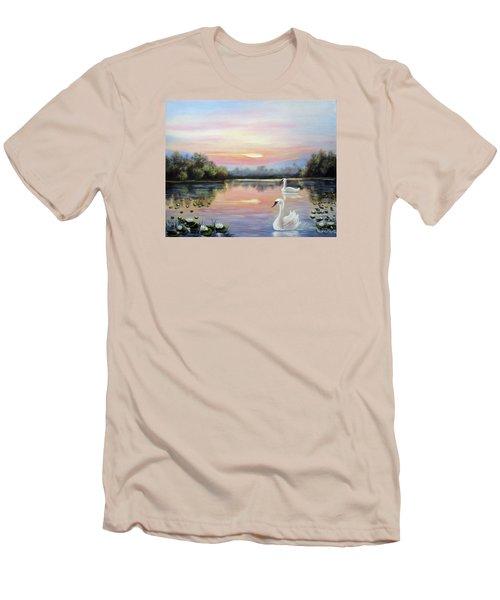 Beauty Men's T-Shirt (Slim Fit) by Vesna Martinjak
