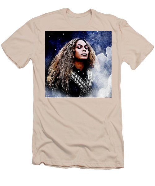 Beyonce  Men's T-Shirt (Slim Fit) by The DigArtisT
