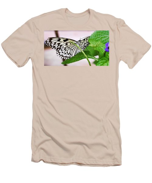 Paper Kite Butterfly No. 1 Men's T-Shirt (Athletic Fit)