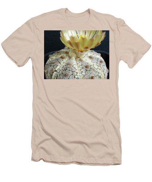 Cactus Flower 1 Men's T-Shirt (Slim Fit) by Selena Boron