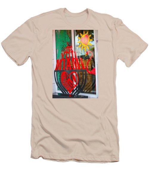 Calle Ocho Men's T-Shirt (Athletic Fit)