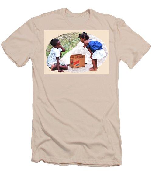 Caribbean Kids Illustration Men's T-Shirt (Athletic Fit)
