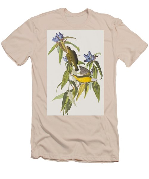 Connecticut Warbler Men's T-Shirt (Athletic Fit)