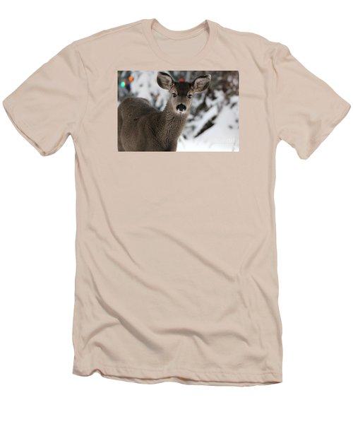 Deer Men's T-Shirt (Slim Fit) by Irina Hays