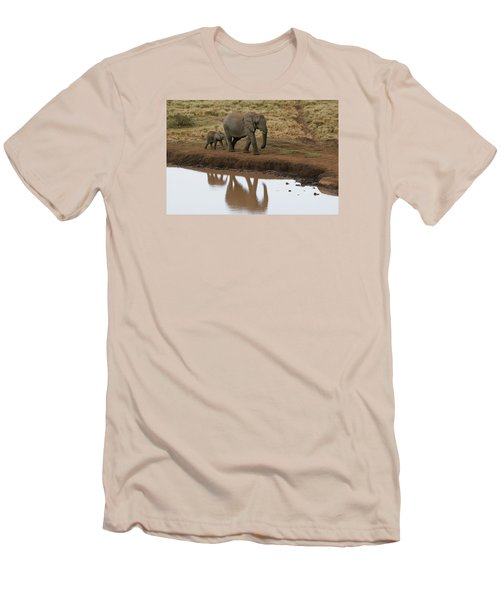 Men's T-Shirt (Slim Fit) featuring the photograph Follow Me by Gary Hall
