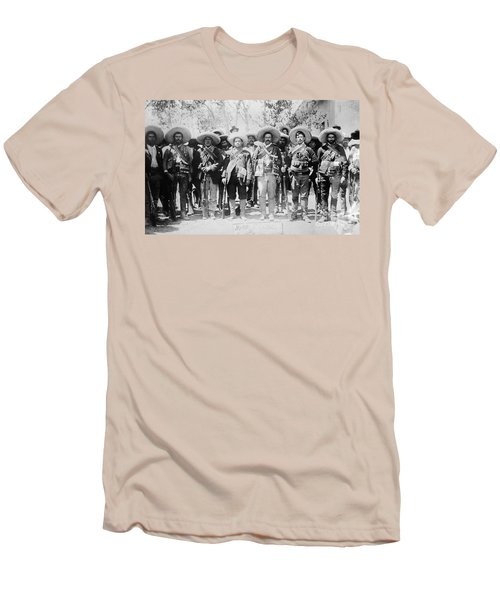 Francisco Pancho Villa Men's T-Shirt (Athletic Fit)