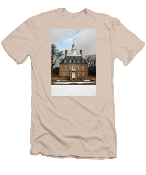 Governors Palace Men's T-Shirt (Slim Fit) by Sally Weigand