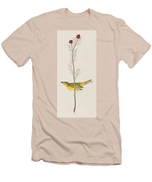 Hooded Warbler Men's T-Shirt (Slim Fit)