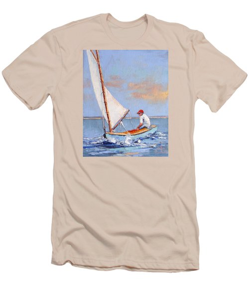 Just Play Men's T-Shirt (Slim Fit) by Trina Teele