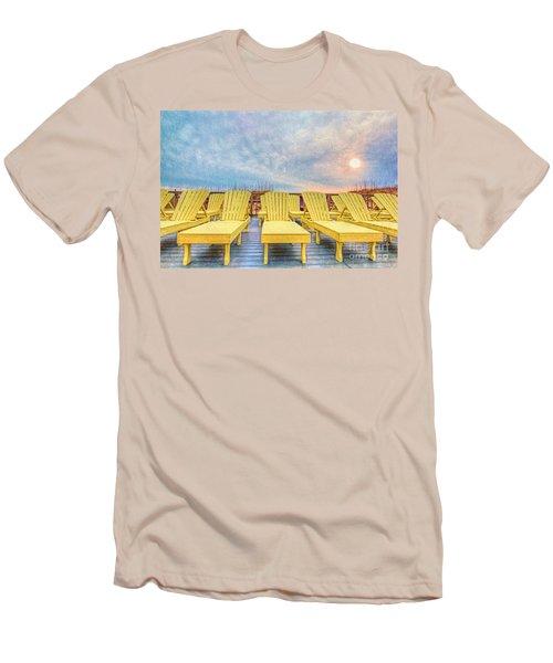 Laid Back Men's T-Shirt (Slim Fit) by Marion Johnson