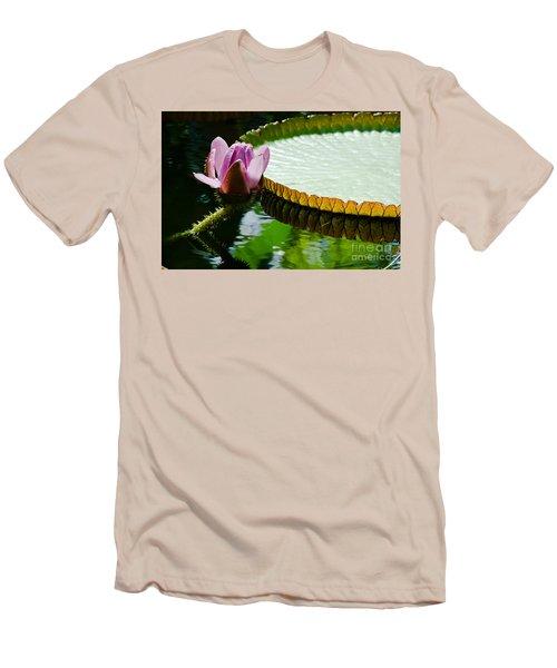 Lotus Flower Men's T-Shirt (Slim Fit) by Yurix Sardinelly