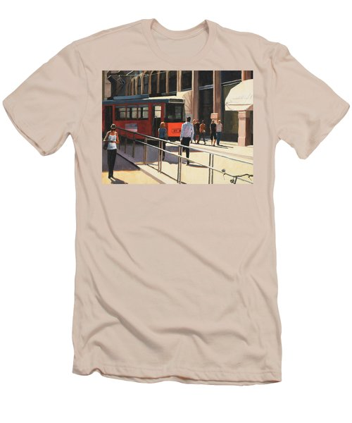Milan Trolley Men's T-Shirt (Athletic Fit)
