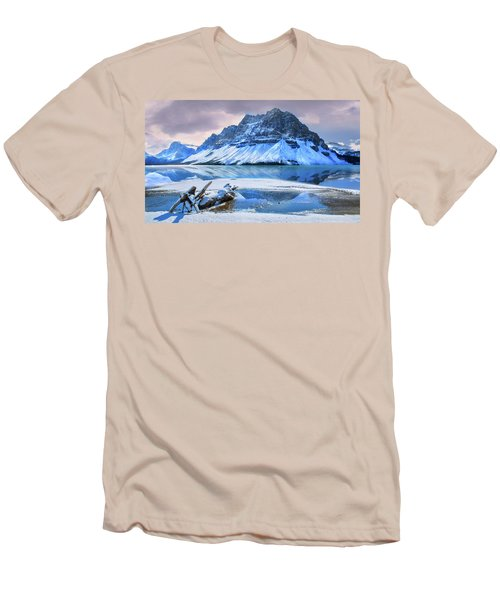 Men's T-Shirt (Slim Fit) featuring the photograph Num Ti Jah by John Poon