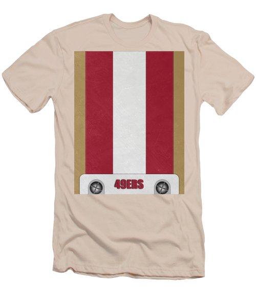 San Francisco 49ers Helmet Art Men's T-Shirt (Athletic Fit)