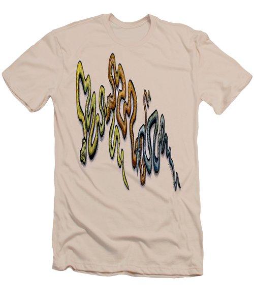 Snakes Men's T-Shirt (Slim Fit) by Kevin Middleton