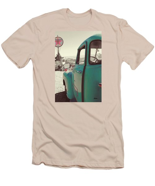 Techatticup Mine Ghost Town Nv Men's T-Shirt (Slim Fit) by Marti Green