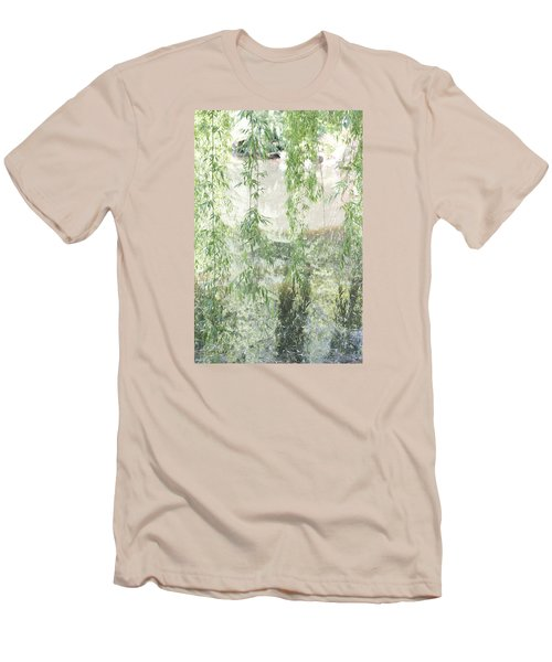 Through The Willows Men's T-Shirt (Slim Fit) by Linda Geiger