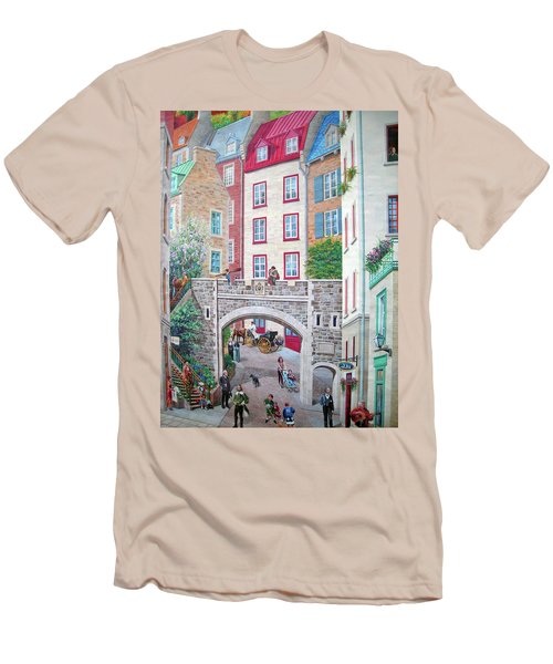 Men's T-Shirt (Slim Fit) featuring the photograph Time ... by Juergen Weiss