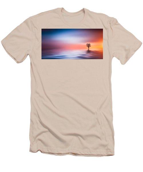 Tree Men's T-Shirt (Slim Fit) by Bess Hamiti