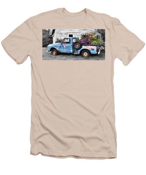 Truckbed Bouquet Men's T-Shirt (Athletic Fit)