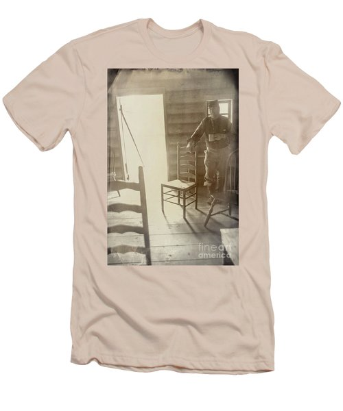 Welcome Men's T-Shirt (Slim Fit) by Randall Cogle