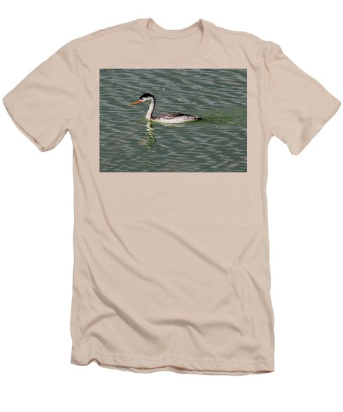 Western Grebe Men's T-Shirt (Athletic Fit)