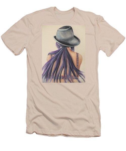 What Lies Ahead Series   Men's T-Shirt (Slim Fit) by Chrisann Ellis