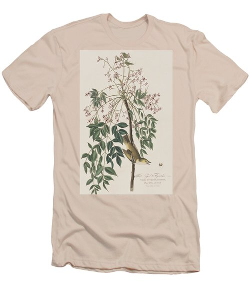 White-eyed Flycatcher Men's T-Shirt (Athletic Fit)