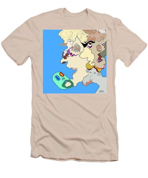 Wysiwyg1v1 Men's T-Shirt (Slim Fit)