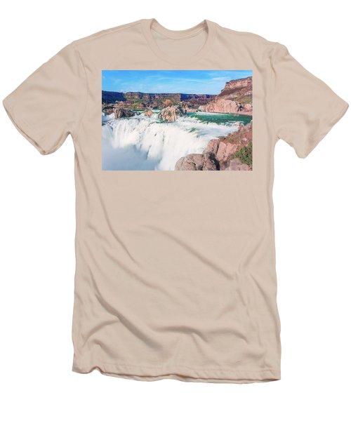 10917 Shoshone Falls Men's T-Shirt (Athletic Fit)