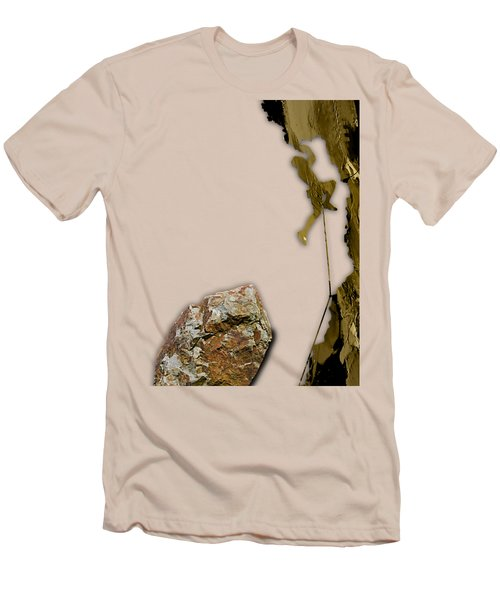 Rock Climber Collection Men's T-Shirt (Athletic Fit)