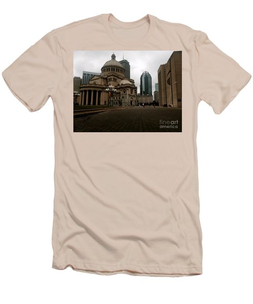 111 Huntington Ave Men's T-Shirt (Slim Fit) by KD Johnson