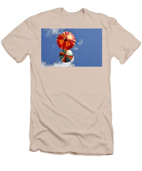 Men's T-Shirt (Athletic Fit) featuring the photograph 12 Oclock High by AJ Schibig