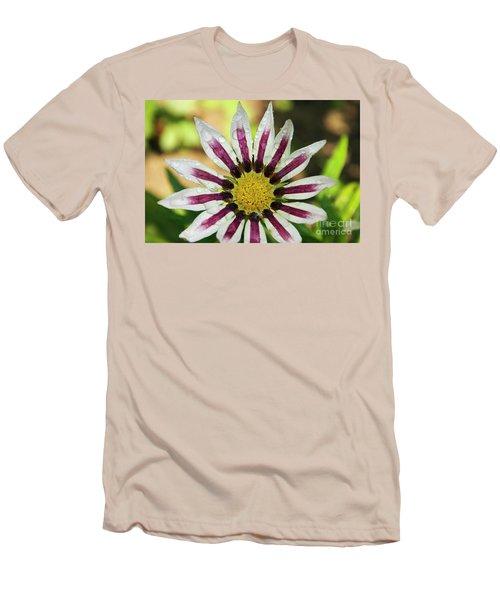 Nice Flower Men's T-Shirt (Slim Fit) by Elvira Ladocki
