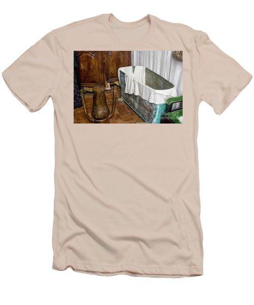 17th Century Bathroom Men's T-Shirt (Athletic Fit)