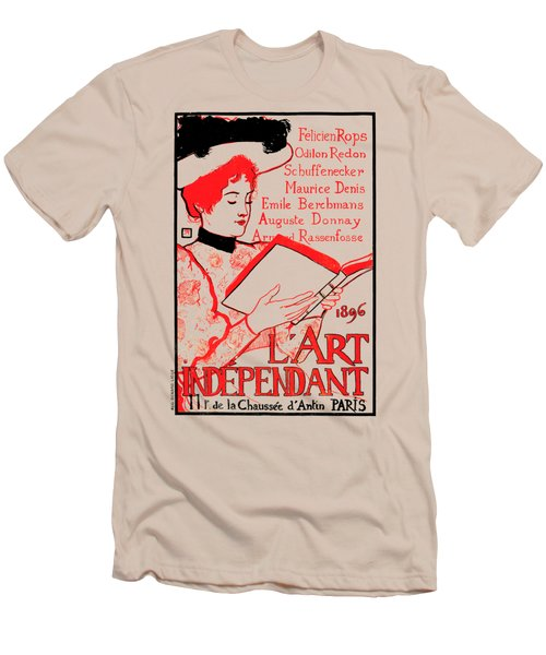 1896 Art Independant Literary Cover Men's T-Shirt (Athletic Fit)