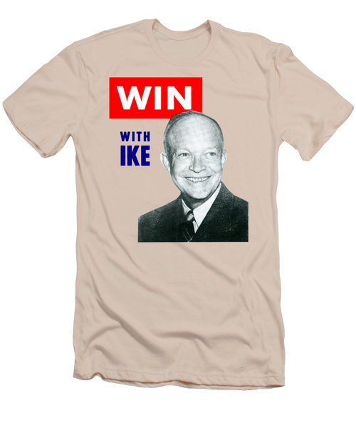 1952 Win With Ike Men's T-Shirt (Athletic Fit)