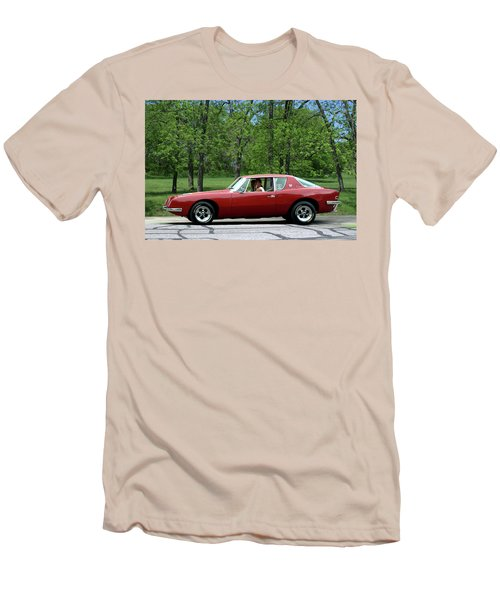 1963 Studebaker Avanti Coupe Men's T-Shirt (Athletic Fit)
