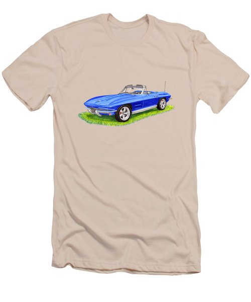 1964 Corvette Stingray Men's T-Shirt (Athletic Fit)
